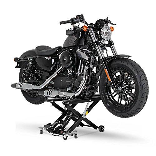 Motorrad Hebeb/ühne XL f/ür Honda VTX 1300 R//S schwarz Scherenheber