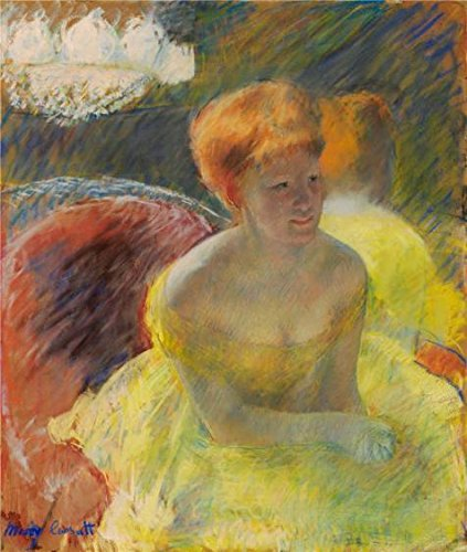 Oil Painting 'Mary Cassatt,At The Theater,about 1879', 30 x 35 inch / 76 x 90 cm , on High Definition HD canvas prints is for Gifts And Bed Room, Home Theater And Living Room (2)