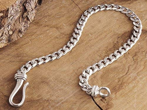 925 Solid Sterling Silver CURB chain BRACELET 4.3mm NEW