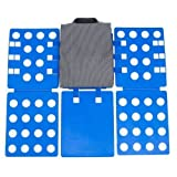 Go Plus the 4th Generation Adjustable Magic Fast Folder Clothes T-shirts Folding Board (Blue) by hooya