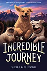 Fans of Old Yeller, Where the Red Fern Grows, and Shiloh will love this timeless classic about two dogs and a cat that embark on a journey to return to their owner and inspired the movie Homeward Bound.   An inquisitive Labrador retriever, fr...