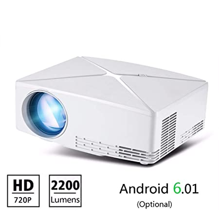 QUARKJK - Proyector HD Mini 1280 x 720 LED portátil HD Beamer para ...