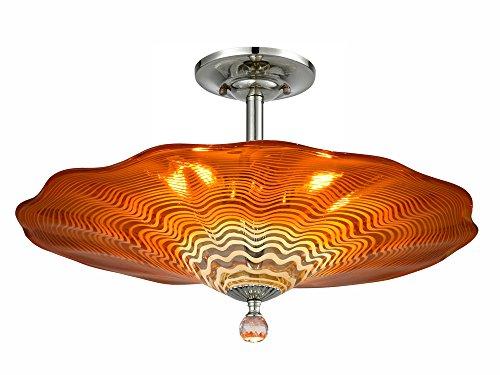 Dale Tiffany AH18003 Titan Flush Mount Ceiling Light, 20
