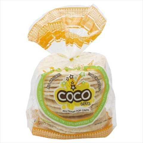 Coco Lite Pop Cakes, Multigrain, 2.64 Oz, Pack Of 24 by Coco Lite: Amazon.com: Grocery & Gourmet Food