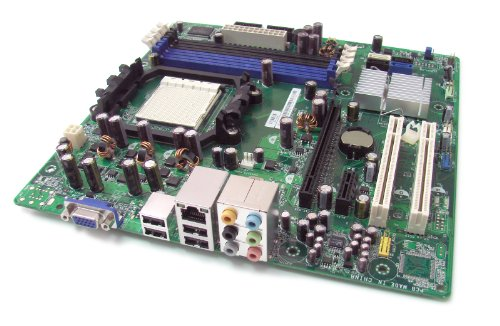 Genuine Dell RY206, 0RY206 Motherboard, Inspiron Intel G333 Express Chipset Nvidia MCP 61 Mainboard For the Dell Inspiron 531 and 531s Small Desktop Mini Tower (SMT) Ati Radeon X1300 Pro