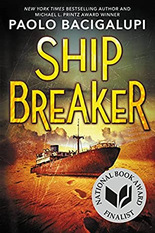 book cover of Ship Breaker
