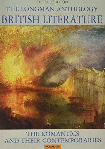 Anthology of British Literature, ( Volume 2 SET - A, B and C)