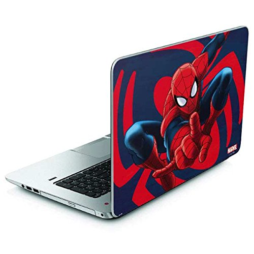 Skinit Marvel Spider-Man Envy 17t Skin - Spidey Shooting Web Design - Ultra Thin, Lightweight Vinyl Decal Protection by Skinit