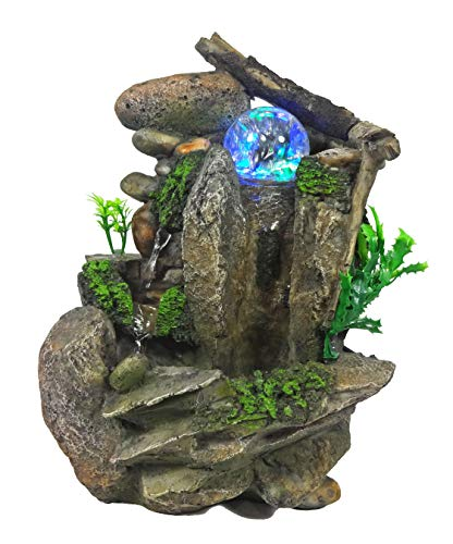 Tabletop Fountain Indoor Fountain Waterfall Nature