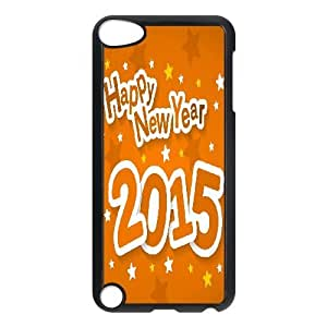 Happy New Year 2015 High Qulity Customized Cell Phone Case for iPod Touch 5, Happy New Year 2015 iPod Touch 5 Cover Case