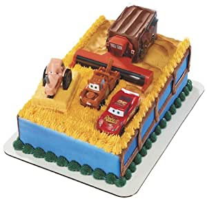 Disney Cars Tractor Tipping Signature DecoSet Cake Topper