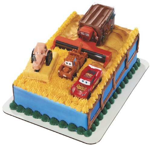 Disney Cars Tractor Tipping Signature DecoSet Cake Topper by DecoPac