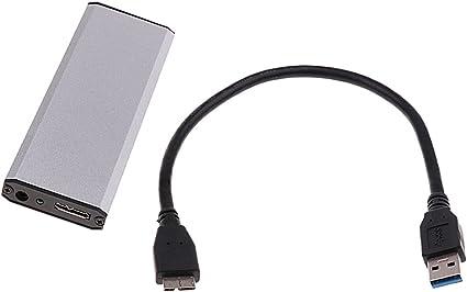 SSD 外付け ハード ドライブ ケース エンクロージャボックス ASUS UX21 UX31に対応