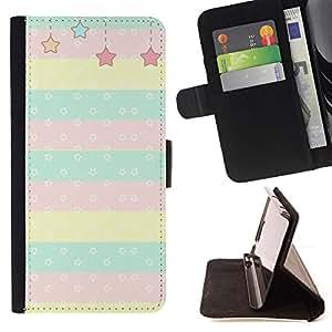 - Queen Pattern FOR Samsung Galaxy S5 Mini, SM-G800 /La identificaci????n del cr????dito ranuras para tarjetas tir????n de la caja Cartera de cuero cubie - stars kids children
