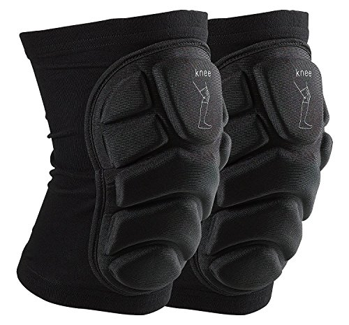 OMID Knee Pads - Breathable Lightweight Padded Knee Sleeve for Skiing Outdoor Sports (S)