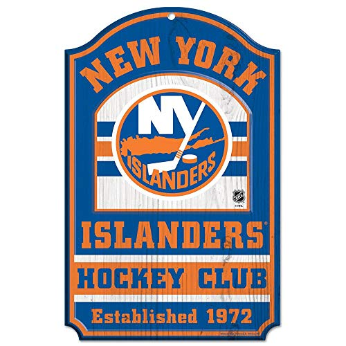 WinCraft NHL New York Islanders 20561014 Wood Sign, 11