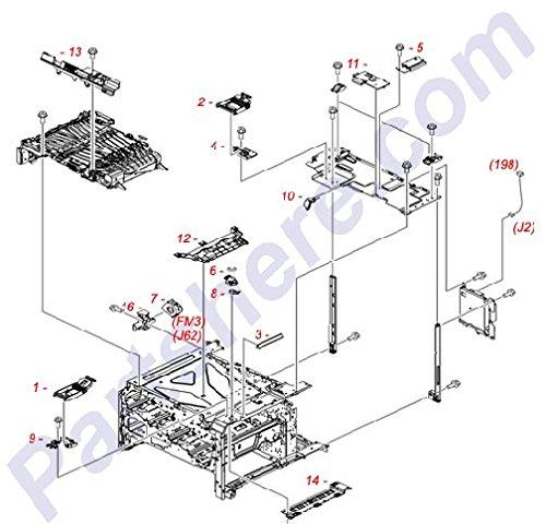 HP RC2-4645-000CN Torsion spring
