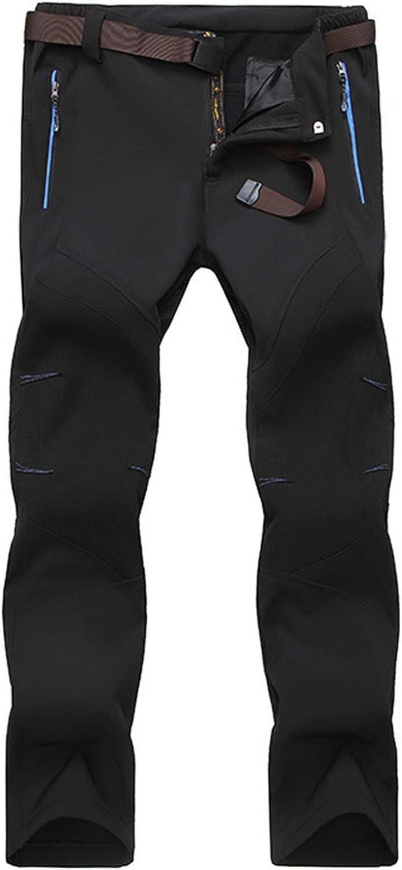 MAGCOMSEN Men's Outstanding Hiking Charlotte Mall Pants Water-Resistant 4 Zipper Pockets Re