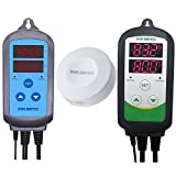 Inkbird Combo MINI Bluetooth Temp/RH Monitor Smart Sensor Data Logger Recorder Wireless + Temperature Humidity Controller Thermostat Hygrostat Thermometer Hygrometer (IBS-TH1 mini + ITC-308 +IHC-200)