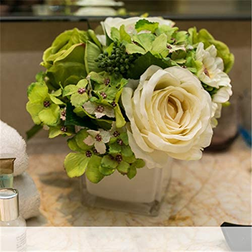Amazon Com Kaipoint Plastic Flower Table Centerpieces Fake Flower