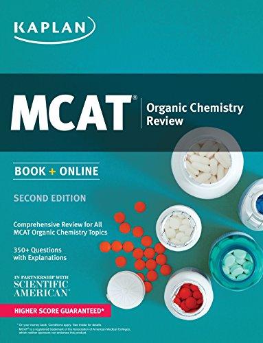 Kaplan MCAT Organic Chemistry Review: Book + Online (Kaplan Test Prep)