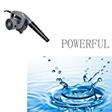 Utheing Small Leaf Blower Little Mini Electric Handheld Blowers Vacuums Grey for Patio Garden Shop Garage Hotel