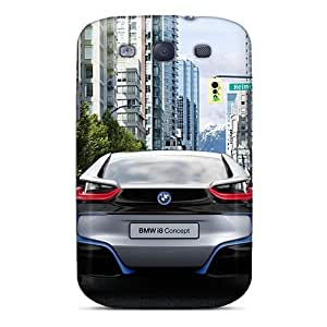 New Fashion Premium Tpu Case Cover For Galaxy S3 - Bmw I8 Concept