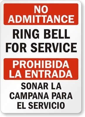 Amazon.com: Sin acceso – Anillo Bell para el servicio ...