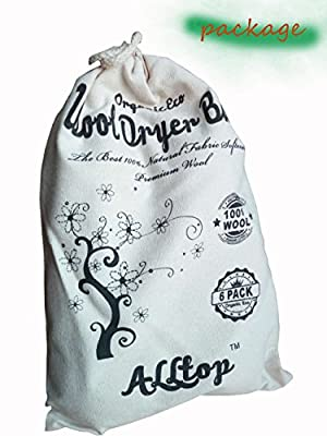 Wool Dryer Laundry Balls by Alltop