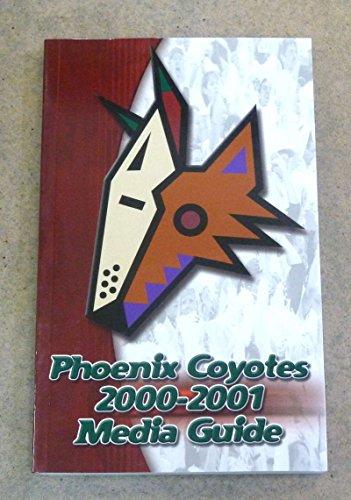 PHOENIX COYOTES NHL HOCKEY MEDIA GUIDE 2000 2001 NEAR MINT