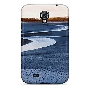 Protective Tpu Case With Fashion Design For Galaxy S4 (lakeside)