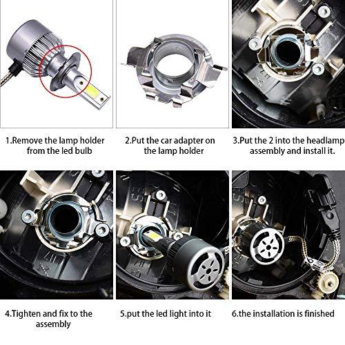 -Black 6 inch Passenger side WITH install kit 100W Halogen 2015 Mercedes-Benz SPRINTER Post mount spotlight