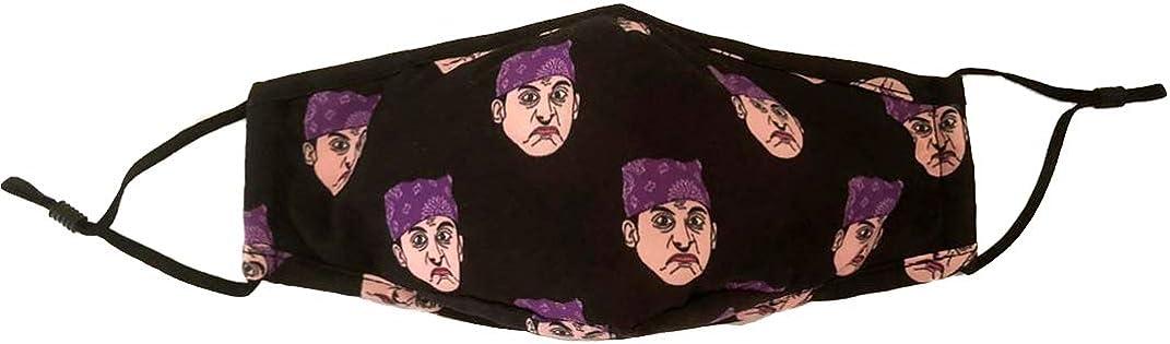 Balanced Co. Michael Scott Seamless Face Mask Bandanas for Dust, Outdoors, Festivals, Sports