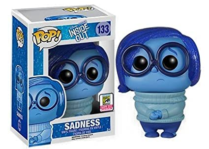 Inside Out FunKo POP Disney//Pixar Sadness 2015 Summer Convention Exclusive