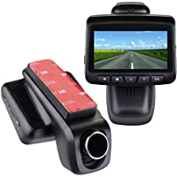 MIKIZ Car Dvr Mini Hidden Dash Cam with Full HD,WIFI,170°Wide Angle, Night Vision, Adjustable Lens