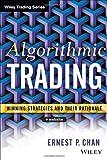 Algorithmic Trading, Ernie Chan, 1118460146