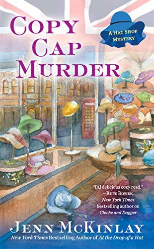 (Copy Cap Murder (A Hat Shop Mystery Book)
