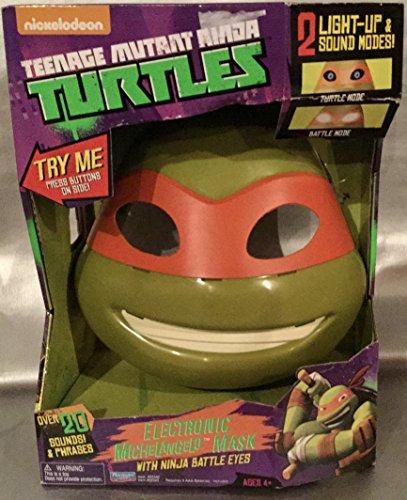 Teenage Mutant Ninja Turtles Michelangelo Electronic Mask ()