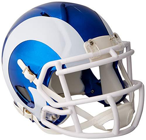 S ANGELES RAMS Football Helmet Chrome Mini ()