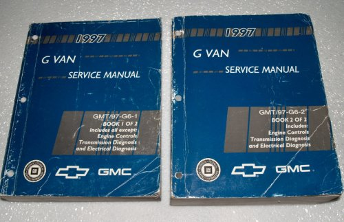 1997 GM, Chevrolet G Van Factory Service Manuals (GMC Savana, Chevy Express, 2 Volume Set)