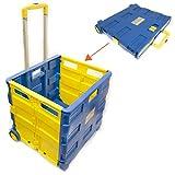 Toolzone Extra Large Folding Storage Cart Trolley 35Kg Capacity by Toolzone