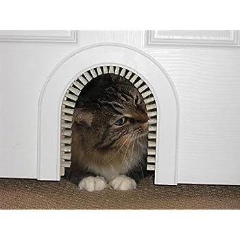 This item Cat Door - Cathole Interior Pet Door With Cleaning Brush