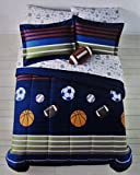 Jumping Beans MVP Sport Boys' 7 Pc Bedding Set, Full
