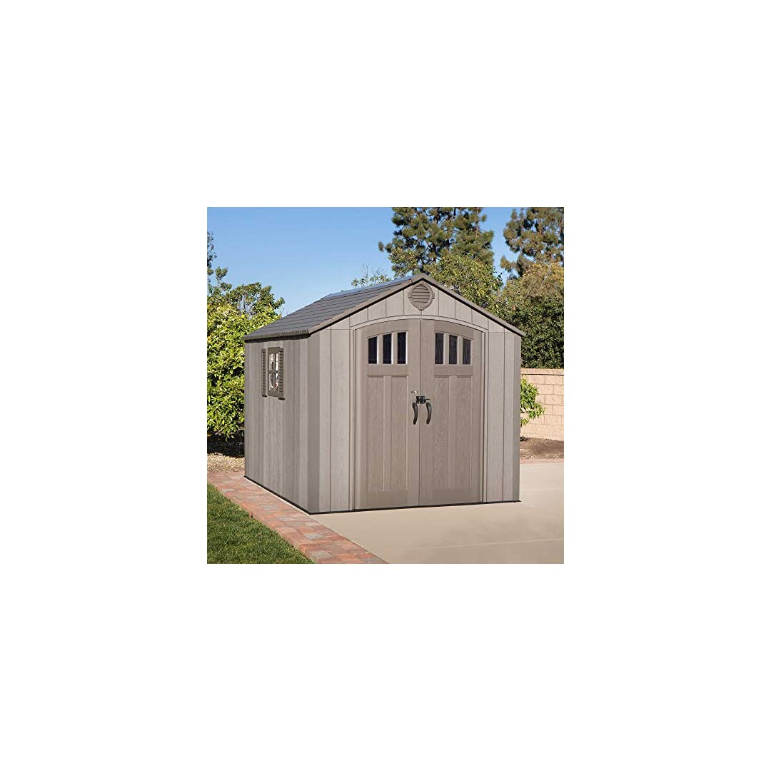 Lifetime 10 x 8ft Shed Rough Cut Review