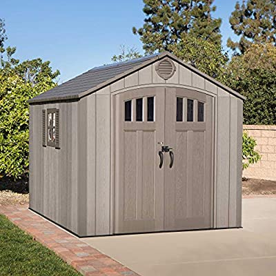 lifetime 10 x 8ft shed review