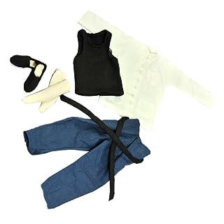 Costume Bianco Stile Cinese 1/6 Manica Lunga Per 12 pollici action Figure Generic STK0157001888