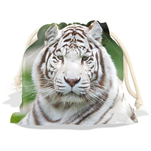 Costume Quest 2 Part 12 (Tiger Pattern Print Velvet Drawstring Gift Bag Wrap Present Pouches Favor for Jewelry, Coin, Holiday, Birthday, Party, 12X14 Inches)