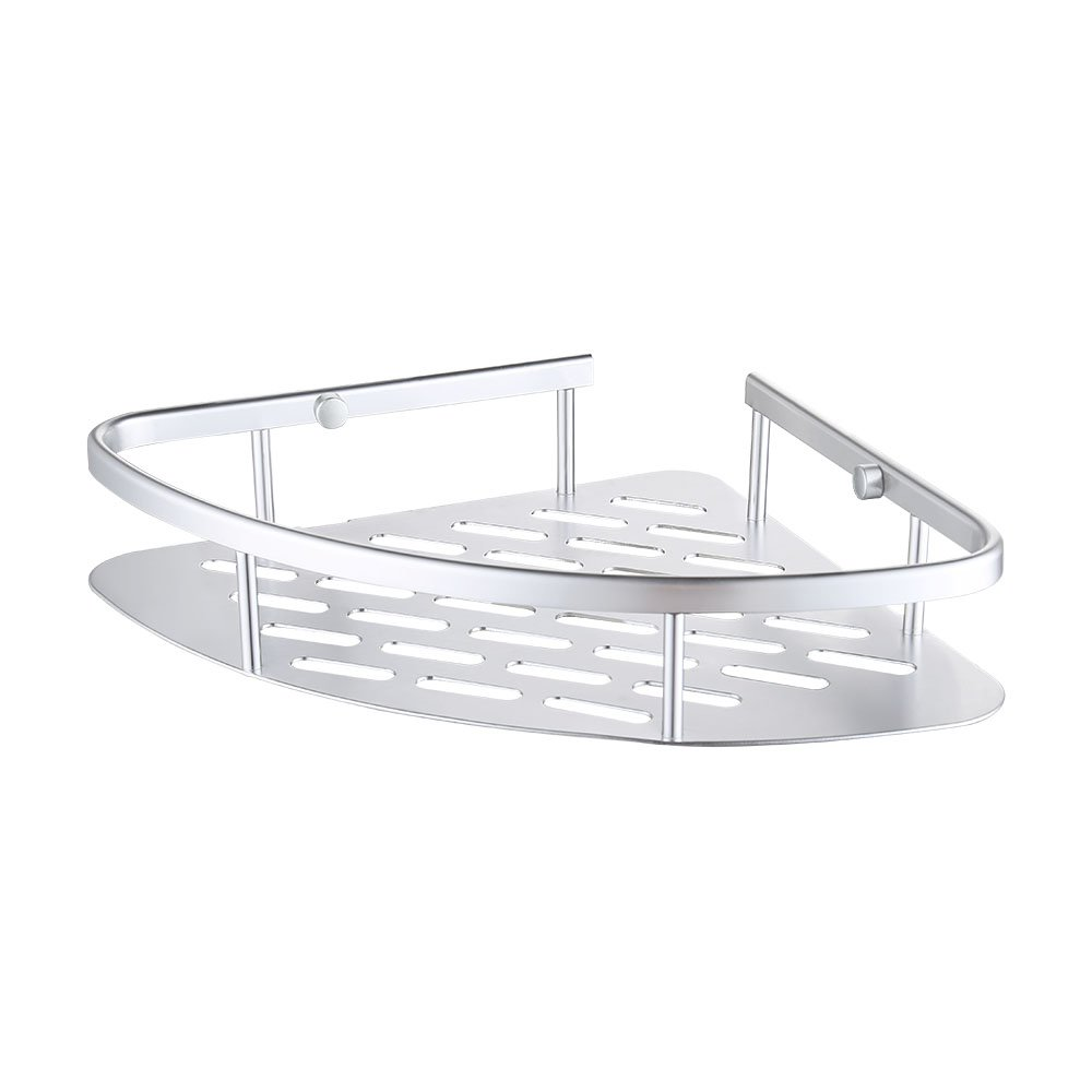 KES A4022A Tub and Shower Large Corner Basket Wall Mount, Aluminum