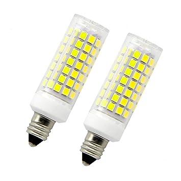 8,5 W E11 LED luz bombilla 75 100 W bombillas halógenas equivalente Mini candelabro E11 ...