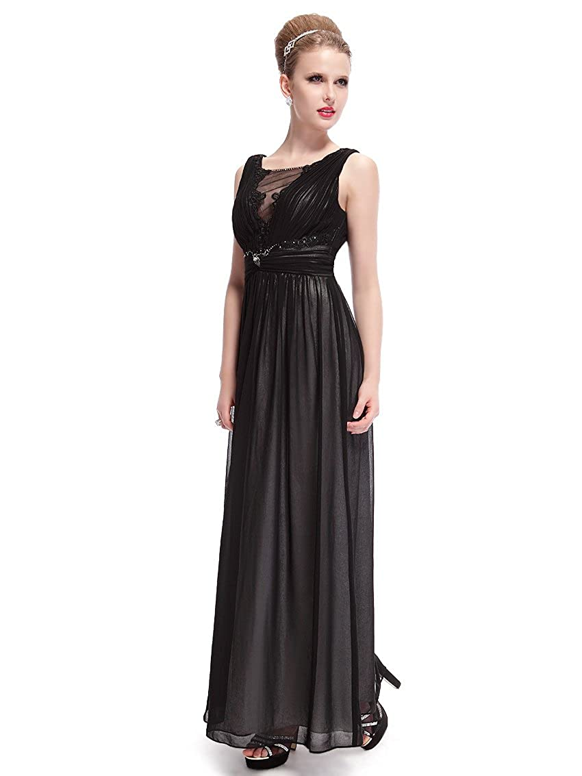 HE09992BK16, Black, 16UK, Ever Pretty Fashion Party Maxi Dresses Size 16 09992: Amazon.co.uk: Clothing